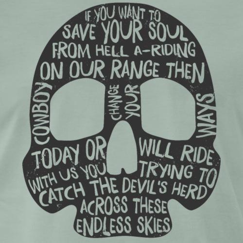 (Ghost) Riders in the Sky - Men's Premium T-Shirt