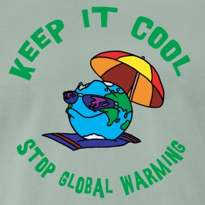 Earth Day Stop Global Warming - Premium-T-shirt herr