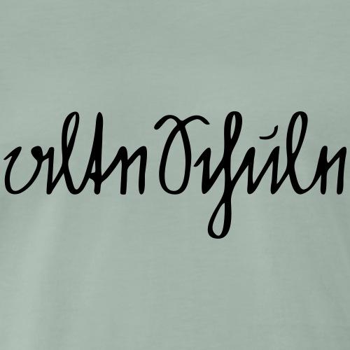 alte Schule - schlicht - Männer Premium T-Shirt