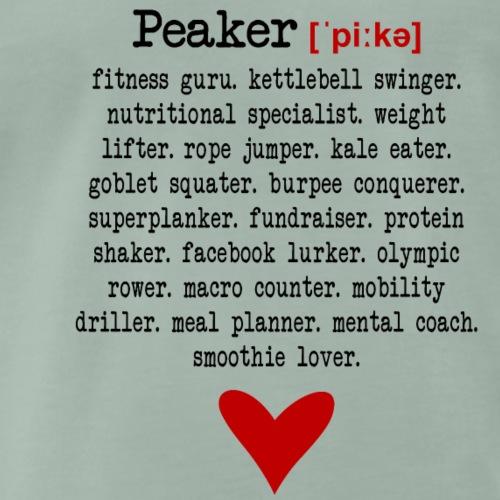 Peaker ['pi: ke] - Men's Premium T-Shirt
