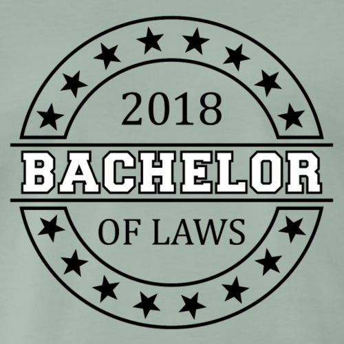 Bachelor of Laws 2018 - Männer Premium T-Shirt