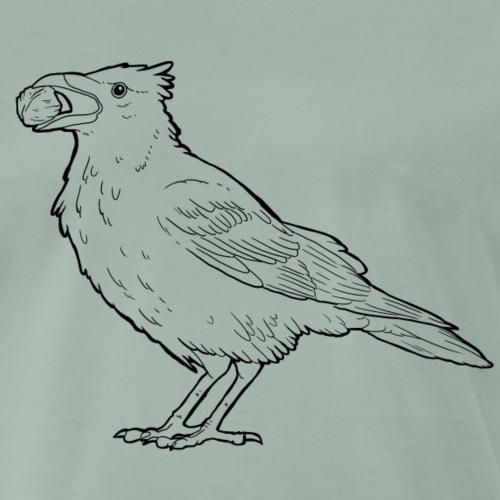 Walnusskrähe - Männer Premium T-Shirt