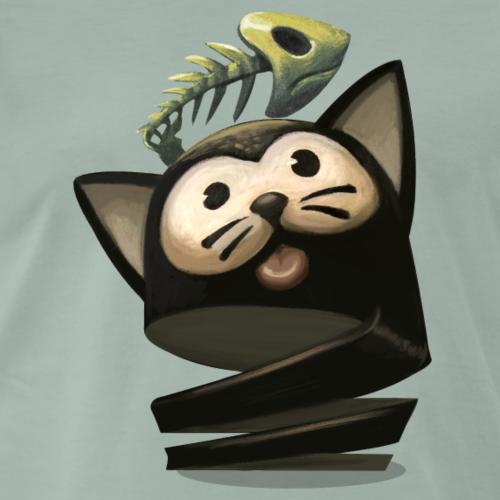 kitty - Camiseta premium hombre