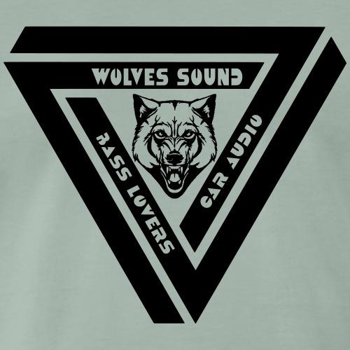bouclier wolves - T-shirt Premium Homme
