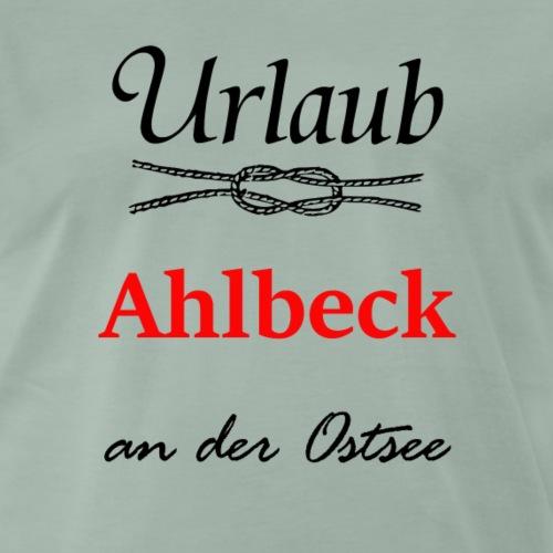 Urlaub Ahlbeck an der Ostsee Sommer Strand &Meer - Männer Premium T-Shirt