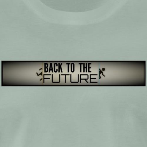 Back to the Future Portal 2 - Männer Premium T-Shirt