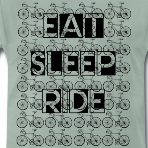 Eat Sleep Ride Rennrad - Männer Premium T-Shirt