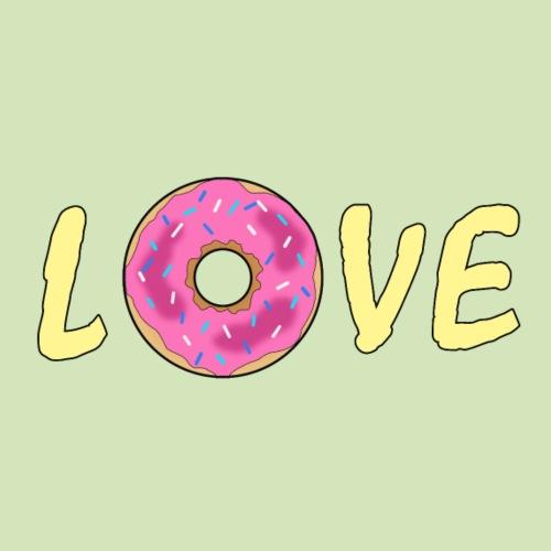 Donut Liebe - Männer Premium T-Shirt