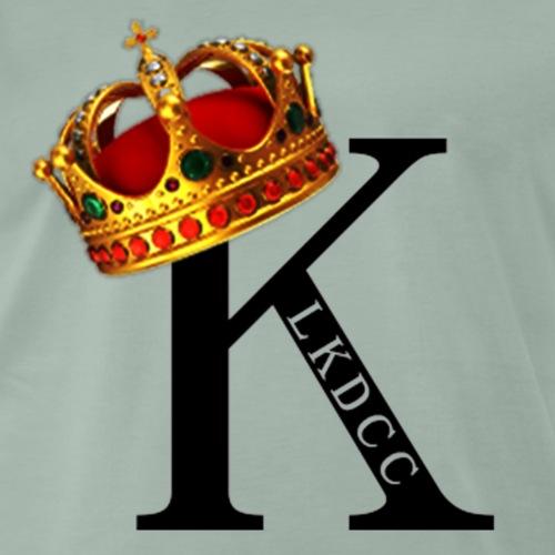 K CON CORONA - Camiseta premium hombre