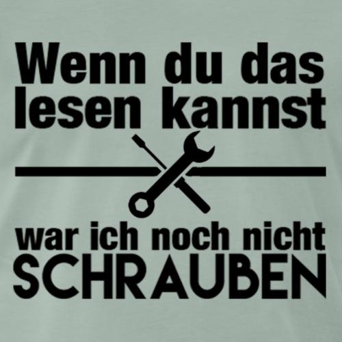 Schraubershirt - Männer Premium T-Shirt