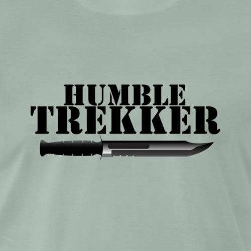 Humble Trekker KaBar - Premium-T-shirt herr