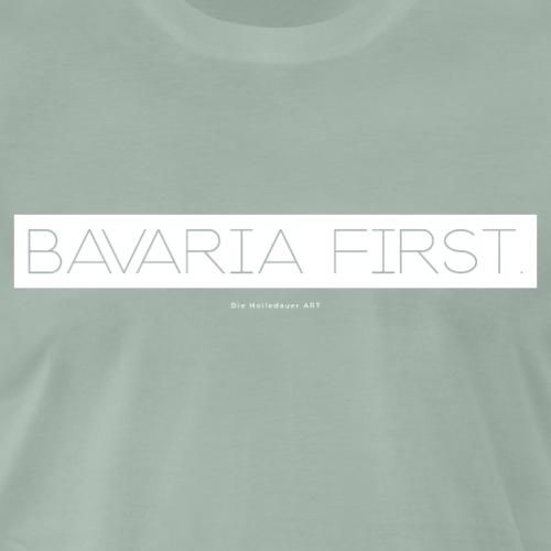 Bavaria First. - Männer Premium T-Shirt