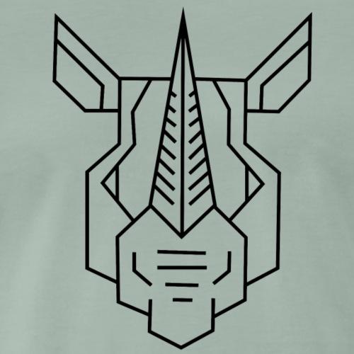 Nashorn_s - Männer Premium T-Shirt