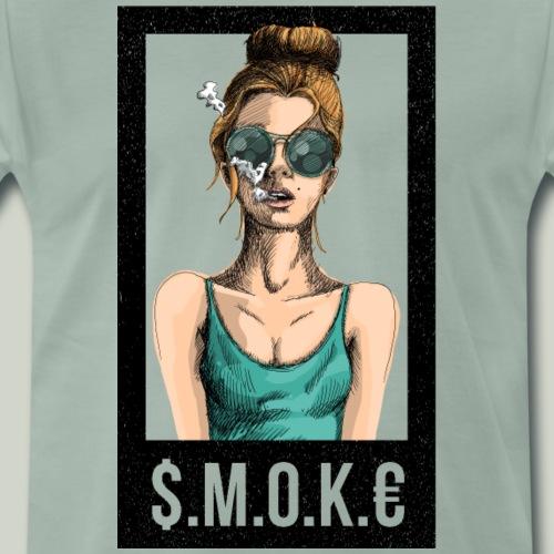 $.M.O.K.€ - Männer Premium T-Shirt