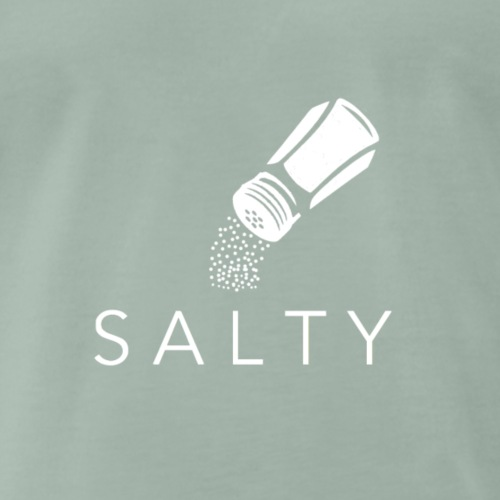 SALTY Motiv WHITE - Männer Premium T-Shirt