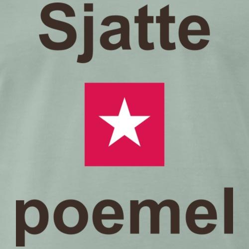Sjattepoemel mr vert b - Mannen Premium T-shirt