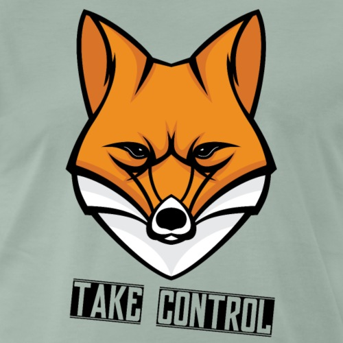 Take Control - Fox - T-shirt Premium Homme