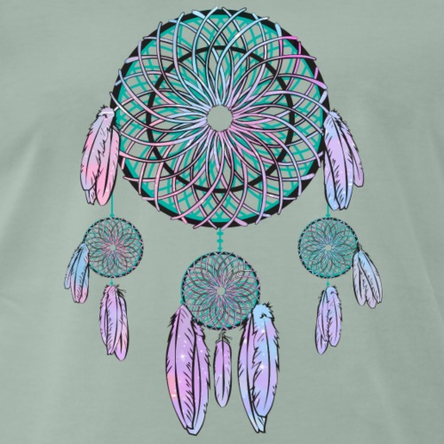 Indian Dreamcatcher - T-shirt Premium Homme