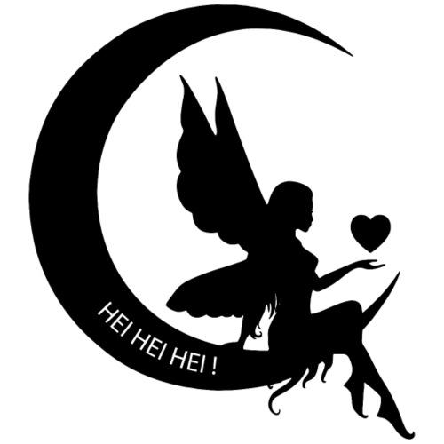 Fata Luna specchio - Maglietta Premium da uomo