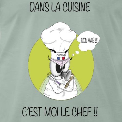 Zanine la Mouche  Chef cuisine - T-shirt Premium Homme