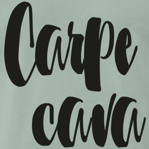 Carpe cava - Premium-T-shirt herr