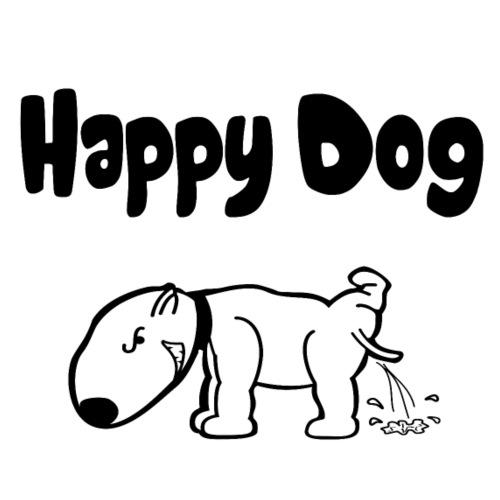 Happy Dog - Männer Premium T-Shirt