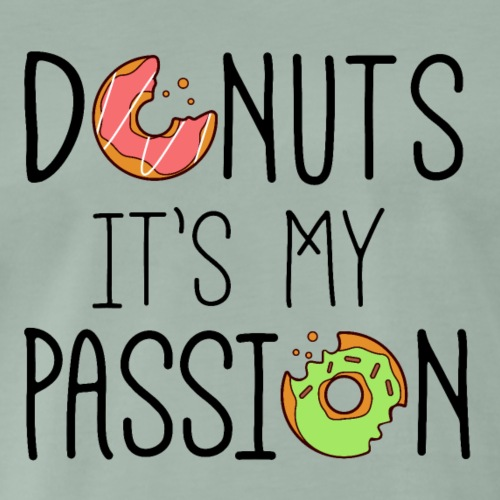 DONUTS IT S MY PASSION - T-shirt Premium Homme