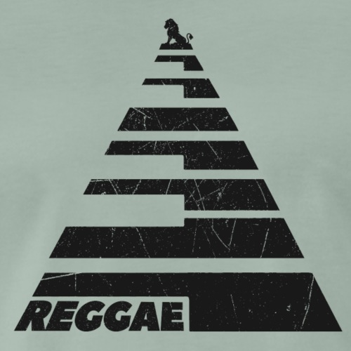 Reggae Keys - Männer Premium T-Shirt