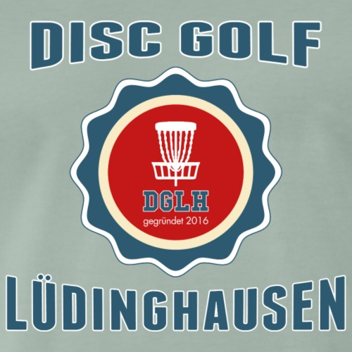DGLH Stamp Design 2 - Männer Premium T-Shirt