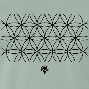 Alien Muster - Men's Premium T-Shirt