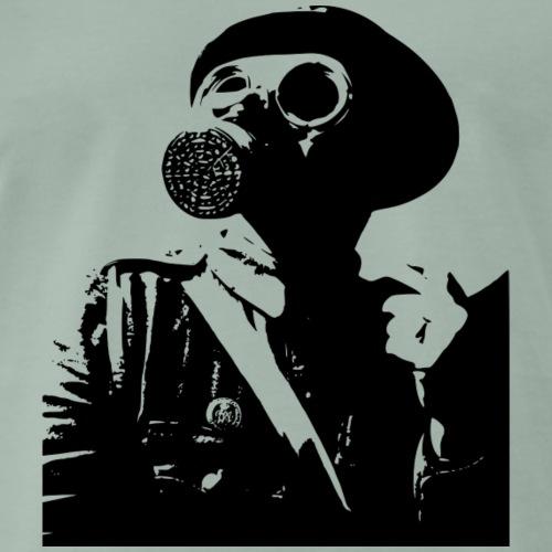 Gasmaske - Männer Premium T-Shirt