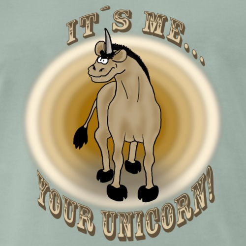Sexy: Your unicorn! - Männer Premium T-Shirt