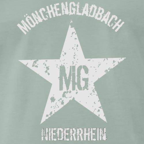 MG Niederrhein weiss - Männer Premium T-Shirt