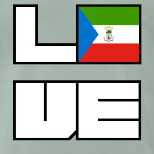 Love Heimat Wurzeln Roots Aequatorialguinea - Männer Premium T-Shirt