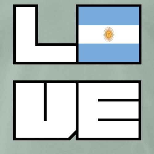 Love Heimat Wurzeln Roots Argentinien - Männer Premium T-Shirt