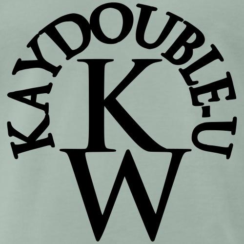 KAYDOUBLE U Halb rund - Männer Premium T-Shirt