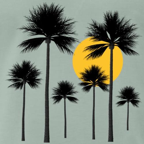 Palmen, Sonne, Sommer und Urlaub in der Südsee - Männer Premium T-Shirt