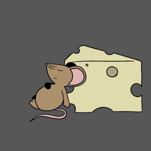 Sleepy Mouse - Men's Premium T-Shirt