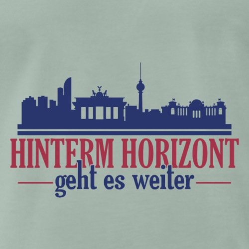 Hinterm Horizont farbig - Männer Premium T-Shirt