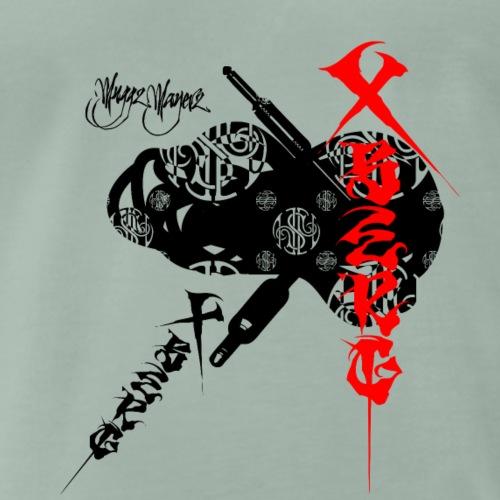 Muggz Mayerz Music XBerg - Männer Premium T-Shirt