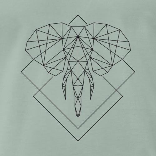 Polygon Elefant - Männer Premium T-Shirt