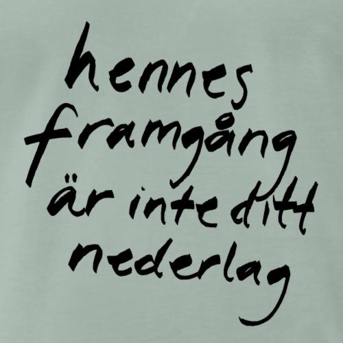 Flora Wistroem - Premium-T-shirt herr