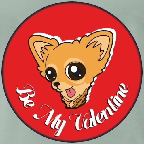 Chihuahua - Be my Valentine - Männer Premium T-Shirt