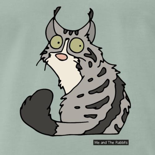 Katt - norsk skogkatt - Premium-T-shirt herr