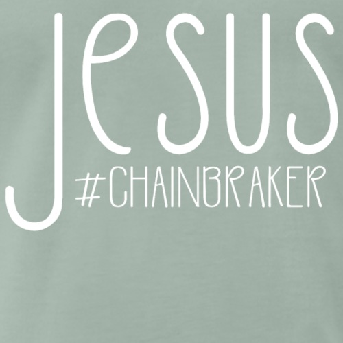 Jesus #chainbreaker - Männer Premium T-Shirt