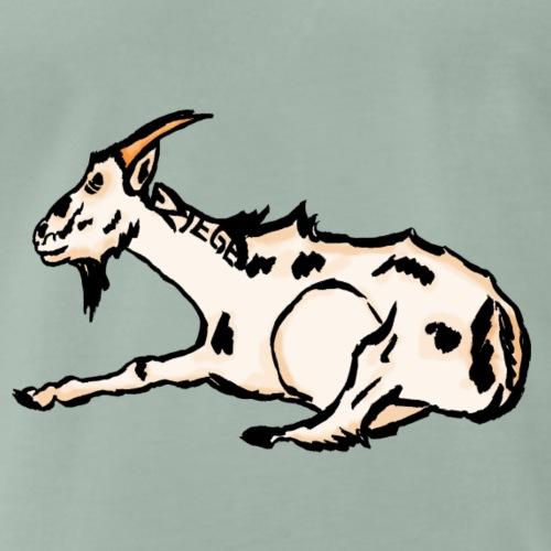 Ziege - Männer Premium T-Shirt