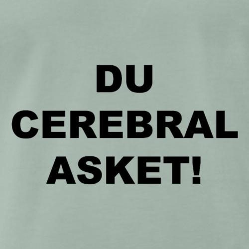 Cerebral Asket schwarz - Männer Premium T-Shirt