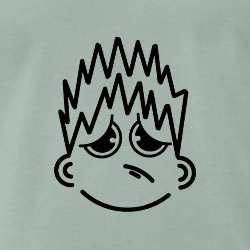 Trauriger Glückskerl - Männer Premium T-Shirt