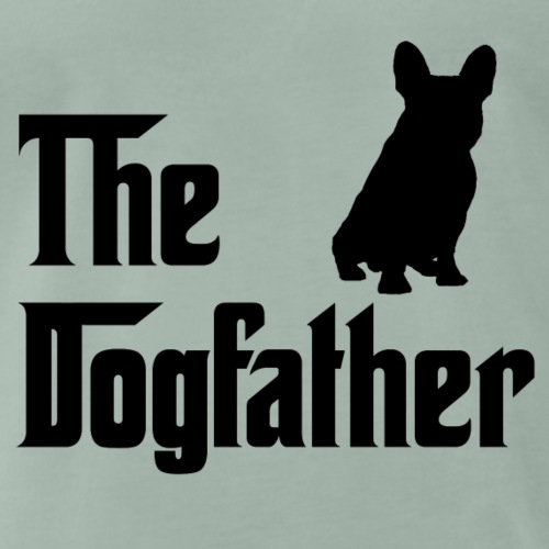 The Dogfather Schwarz - Männer Premium T-Shirt