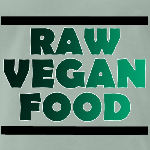 Raw Vegan Food - Männer Premium T-Shirt